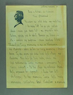 Letter from Anna Krasuska to Shirley Strickland, 29 Nov 1956