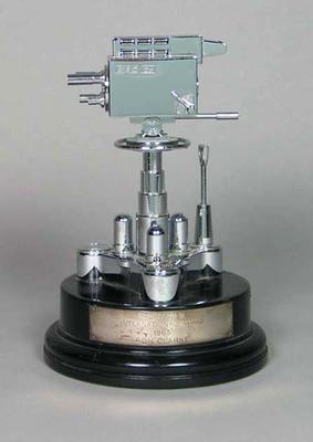Sportsview International Award (BBC) presented to Ron Clarke, 1965