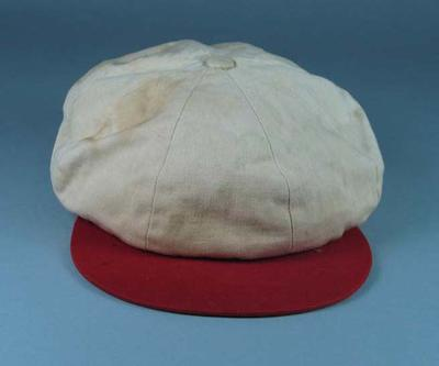 South Melbourne Baseball Club cap, c1930