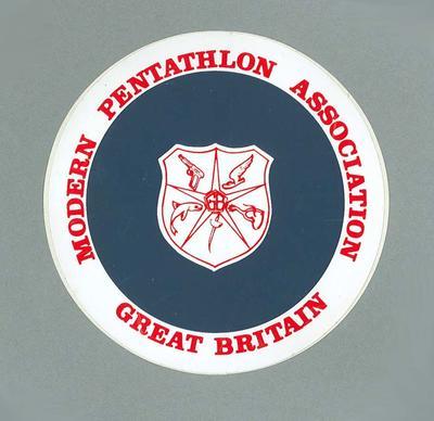 Sticker, Modern Pentathlon Association Great Britain