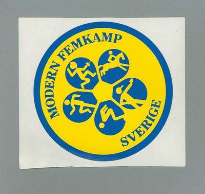Sticker, Modern Femkamp - Sverige