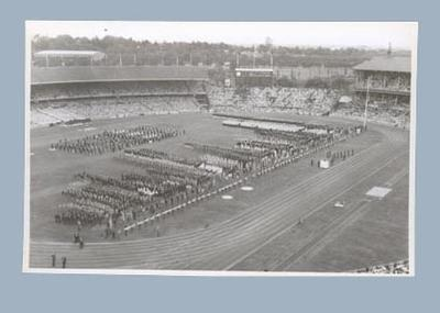 Photograph of Opening Ceremony, 1956 Olympic Games