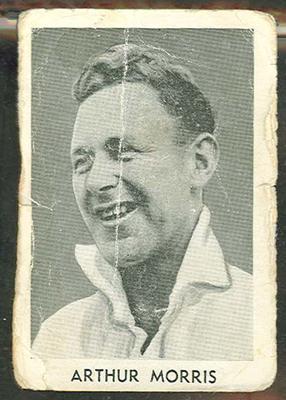 1947 Radio Fun Arthur Morris trade card; Documents and books; M12393