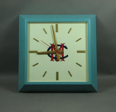 Clock, Melbourne Cricket Club logo