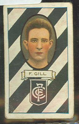1933 Carreras (Turf Cigarettes) Personalities Series Frank Gill trade card; Documents and books; M12400.1