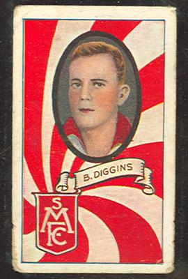 1933 Carreras (Turf Cigarettes) Personalities Series Brighton Diggins trade card