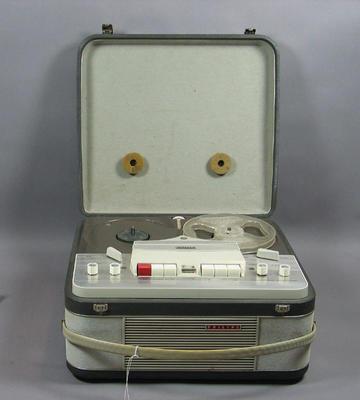 Portable tape recorder, Philips brand c1964