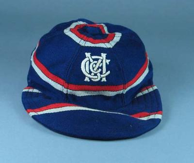 Cap, Melbourne Cricket Club - Baseball Section c1958