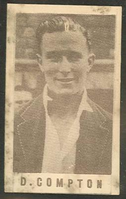 1946-47 Australian Cricketers D Compton trade card