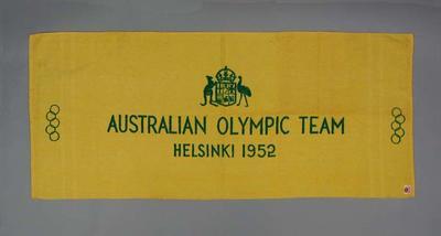 Towel, Australian Olympic Team Helsinki 1952