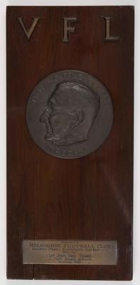 McClelland Trophy awarded to Melbourne Football Club, 1955 VFL Season