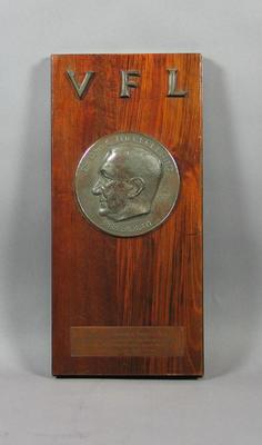 McClelland Trophy awarded to Melbourne Football Club, 1956 VFL Season