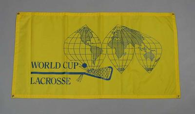 Banner, World Cup Lacrosse