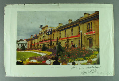 Photograph of Tasmanian Parliament House, 1956