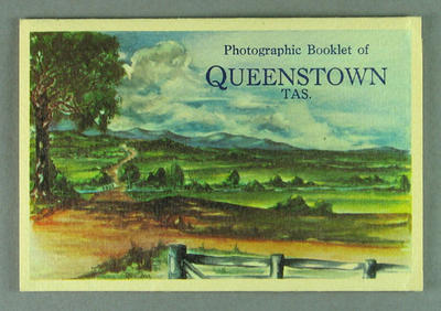 Booklet of photographs of Queenstown, Tasmania c1957