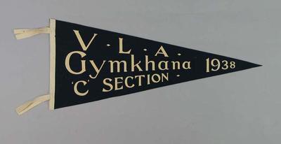 Pennant - Victorian Lacrosse Association Gymkhana 'C' Section 1938