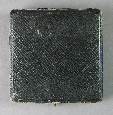 Medal case for Victorian Rowing  Championship medal 1915