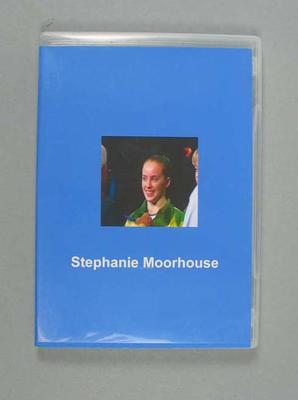 CD disc and case - Stephanie Moorhouse