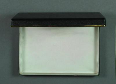 Presentation box for medal
