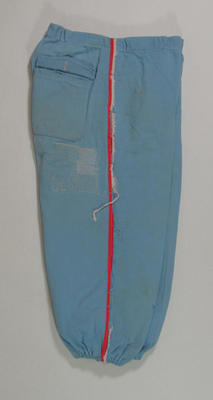 Pants, Melbourne Cricket Club - Baseball Section c1970; Clothing or accessories; 1988.2045.6