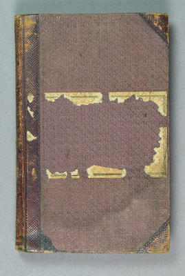 Diary kept by John McCarthy Blackham, 1875 - 1876; Documents and books; M12526