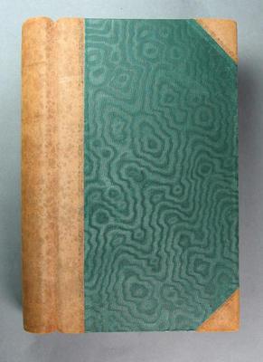 Score book, McConchie Cricket Club c1908-1934 + 2 loose inserts