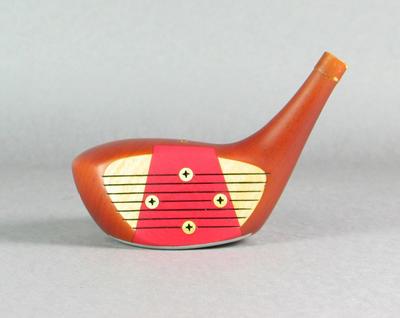 """Dunlop golf stick head, """"Prosperity"""""""