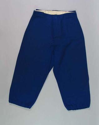 Pants, North Melbourne Baseball Club c1949
