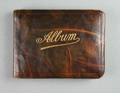 Autograph book, used by Les Harley at 1936 Olympic Games