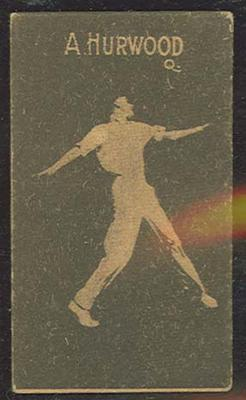 1933 Hoadley's Chocolates Ltd Cricketers A Hurwood trade card