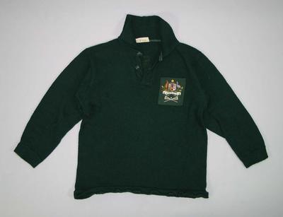 Australian lacrosse team jumper, worn by Doug Fox in 1970