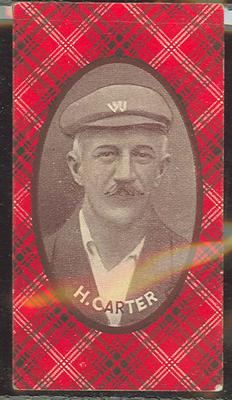 1921 McIntyre Bros Australian Champion Eleven 1920-21 H Carter trade card