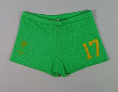 Lacrosse shorts worn by Thomas Hardy at the 1986 Lacrosse World Championships