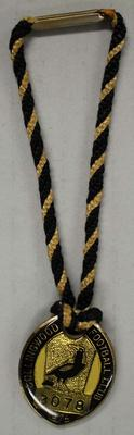 Membership medallion, Collingwood Football Club 1975