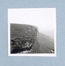 Photograph of mountain scenic view, c1947-60
