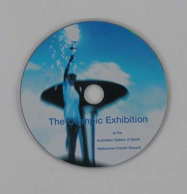 "CD in case, ""The Olympic Experience"" - used in audio player for AGOS&OM tours"