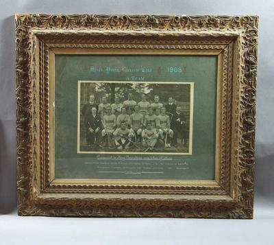 Photograph of South Yarra Lacrosse Club A Team, 1908