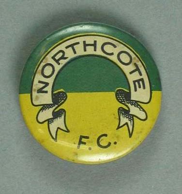 Badge, Northcote FC c1950s