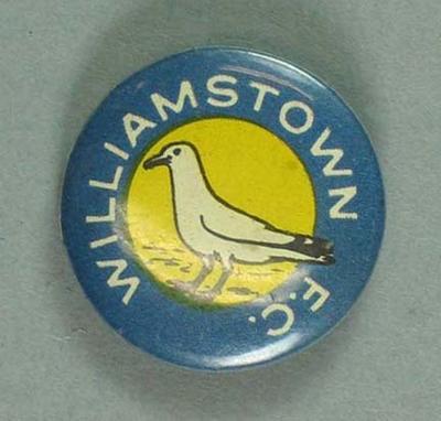 Badge, Williamstown FC c1950s
