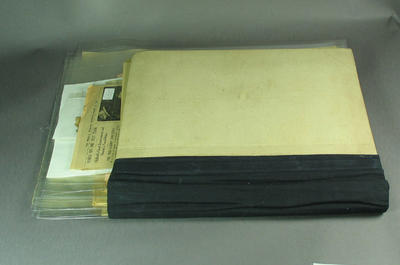 Scrapbook pages, contain newspaper clippings related to cricket c1926; Documents and books; Documents and books; Documents and books; Documents and books; Documents and books; M12731