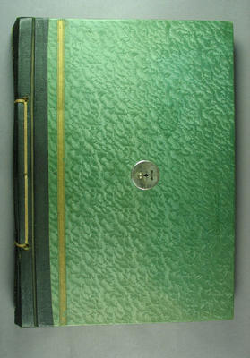 Scrapbook, contains newspaper clippings related to cricket c1932-33; Documents and books; Documents and books; Documents and books; Documents and books; M12733