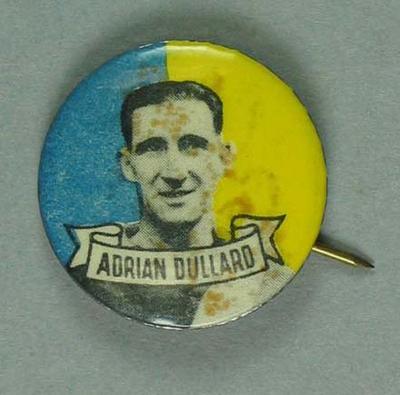 Badge, Adrian Dullard c1950s