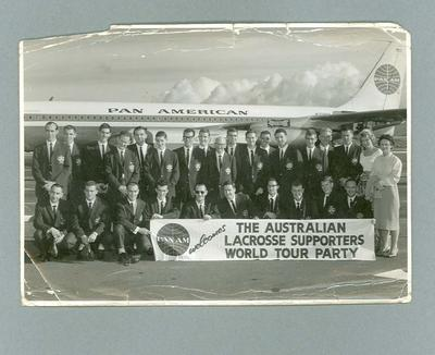Photograph of Australian lacrosse team, 1962 Tour of USA