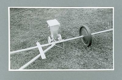 Photograph of LineMaster marker designed by Graeme Cleeland used for 1962 Perth Commonwealth Games