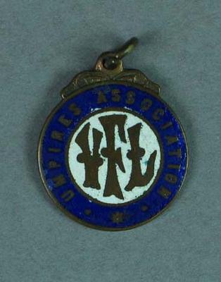 Medallion, VFL Umpire's Association; Trophies and awards; 1994.3039.306
