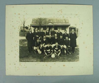 Black and white photograph, Hawthorn Lacrosse Club - 1922