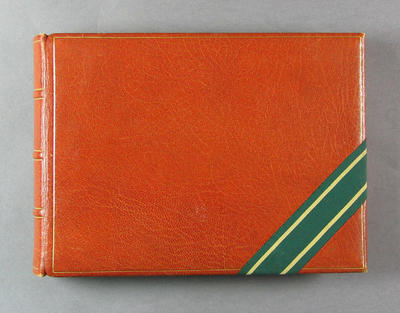 Photograph album owned by William L Kelly, Manager Australian XI Tour England 1930