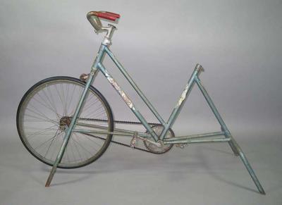 Fixed frame Malvern Star exercise bike