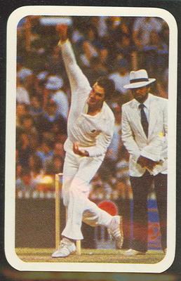 1979/80 Ardmona Collector Cards Series II International Cricket Greg Chappell trade card