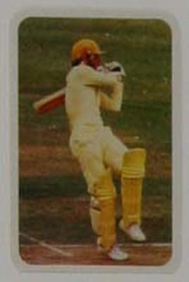 1979/80 Ardmona Collector Cards Series II International Cricket Ian Chappell trade card